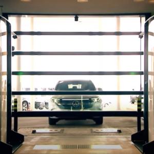 Arco inteligente de carroceria del vehículo